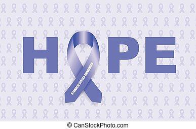 câncer estômago, fita