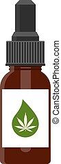cânhamo, óleo, produtos, cbd