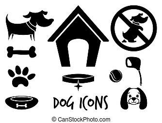 cão, ícones