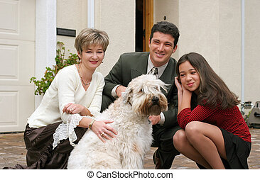 cão, família