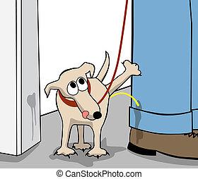 cão, rebelde
