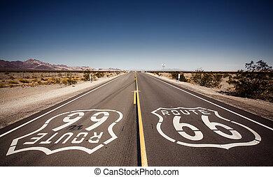 célèbre, routez-en 66