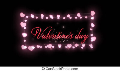célébration, jour, valentines
