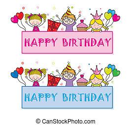 célébrer, fêtede l'anniversaire