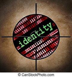 céltábla, személyazonosság