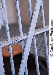 célula, cárcel, o, prisión