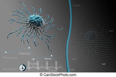 célula, caule