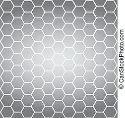 célula, conexión, vector, graphics.