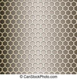 célula, metal, plano de fondo