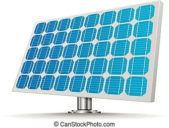 célula, painel solar
