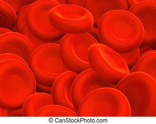 células, sangre