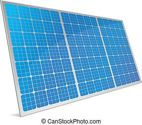células, solar