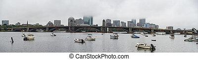 céntrico, boston, contorno