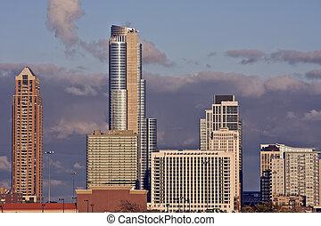 céntrico, sur, chicago