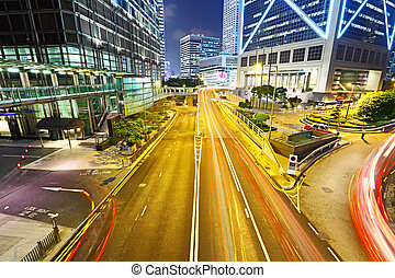 céntrico, tráfico