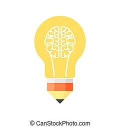 cérebro, bulbo leve