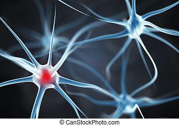 cérebro, neurônios