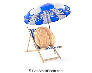 cérebro, relaxe, conceito