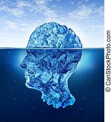 cérebro, riscos, human