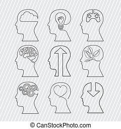 cérebros, desenho