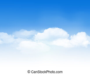 céu azul, clouds.