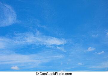 céu, e, nuvens