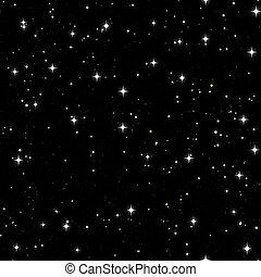 céu estrelado, seamless
