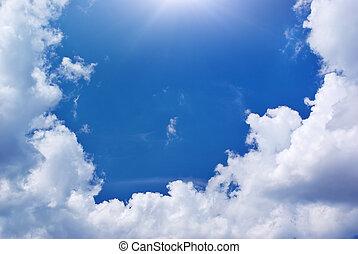 céu, fundo
