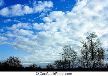 céu, inverno