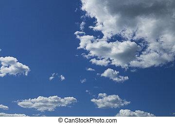 céu nublado, panorama