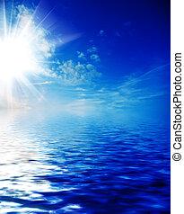 céu, oceânicos