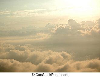 céu, semelhante, skyscape