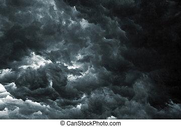 céu, tempestade