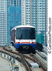 céu-trem, em, bangkok