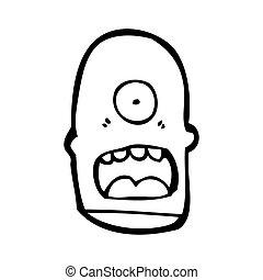 cíclope, caricatura