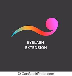 cílio, extensões