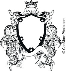 címertani, címerpajzs, copyspace9