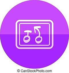 círculo, ícone, -, estratégia
