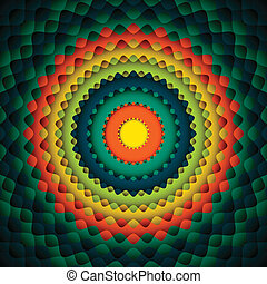 círculo, abstratos, fundo