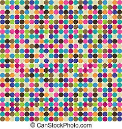 círculo, abstratos, padrão