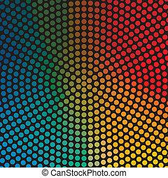 círculo, coloridos, fundo