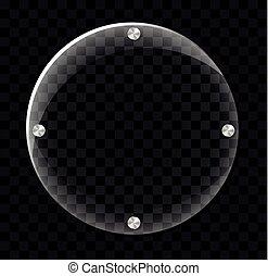 círculo, concepto, marco, plano de fondo
