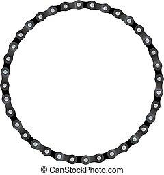 círculo, corrente