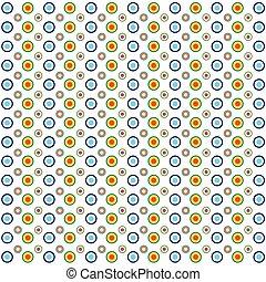 círculo, fundo, ilustração, coloridos