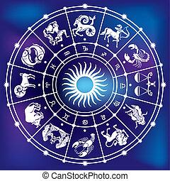 círculo, horóscopo