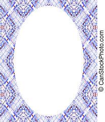 círculo, marco, fronteras, adornado, plano de fondo
