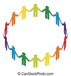 círculo, paz