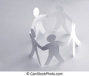 círculo pessoas