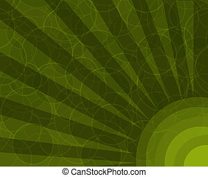 círculos, abstratos, retro