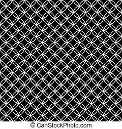 círculos, backgr, azulejos, repetición, se trabar, patrón, ...
